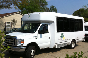 2011 El Dorado Bus, seats 10 passengers and 2 wheelchairs